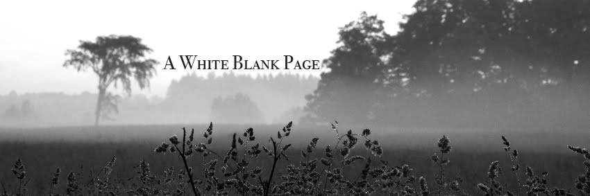 White Blank Page