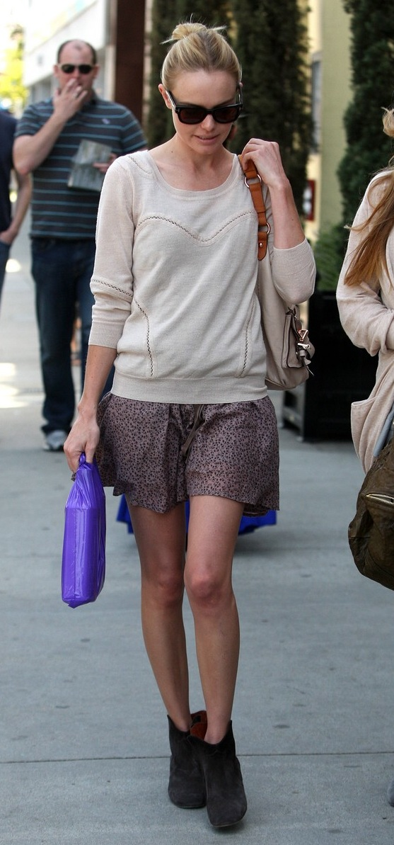 Mademoiselle Fluo: Street Style - Kate Bosworth
