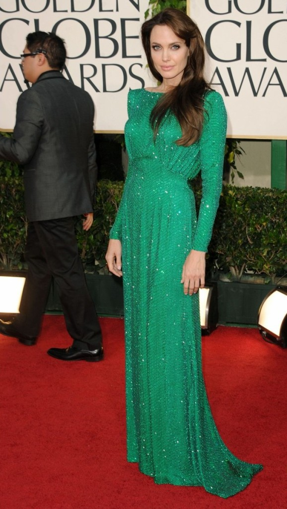 Angelina Jolie and Brad Pitt 68th Annual Golden Globe Awards held at The