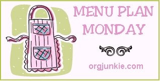 mpm3 Menu Plan Monday + Spring Cleaning