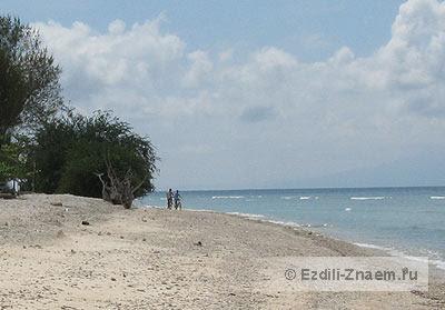 Пляжи острова Траванган