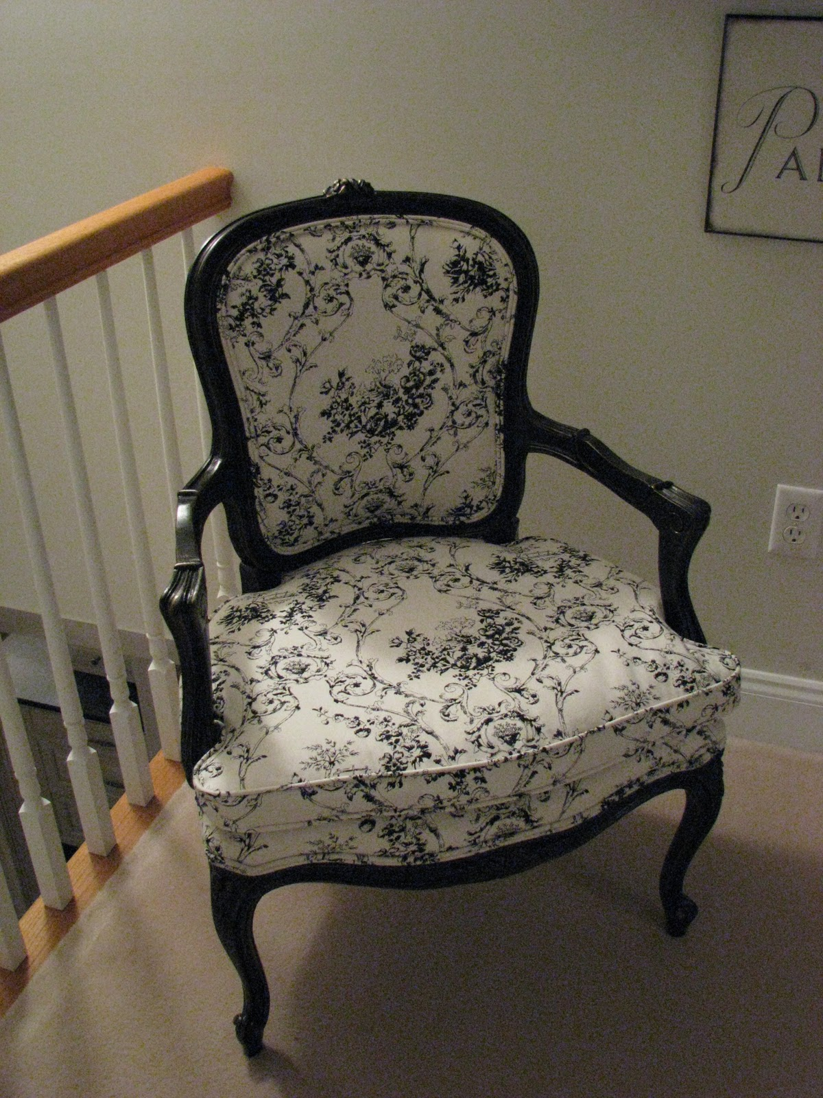 Below are pictures of my chairs that were refinished by Andrea!