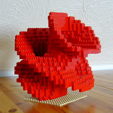 Mathemathical LEGO Sculptures #4