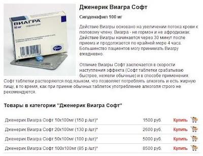 Дженерик Виагра Софт