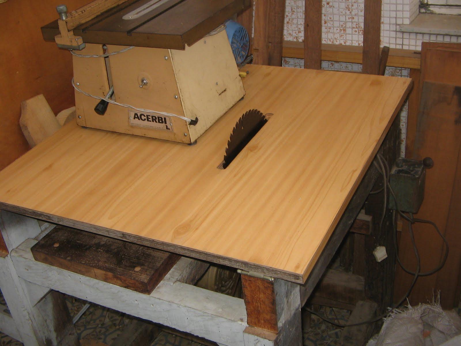 luthier: Máquinas Serra circular de bancada caseira #A26C29 1600x1200