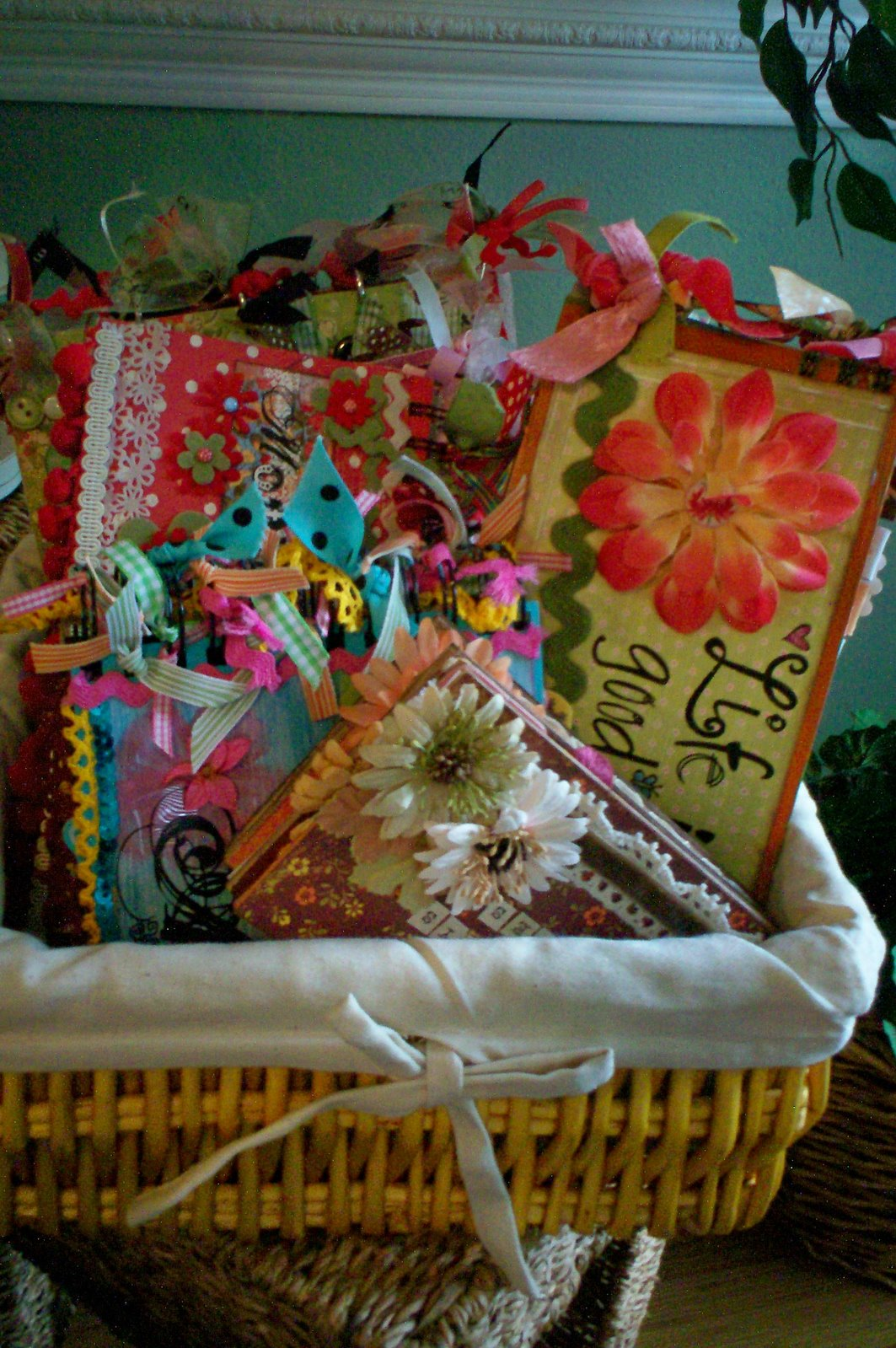 old basket of mini's I still love