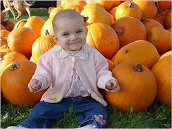 Our Little Pumpkin - Rebekah
