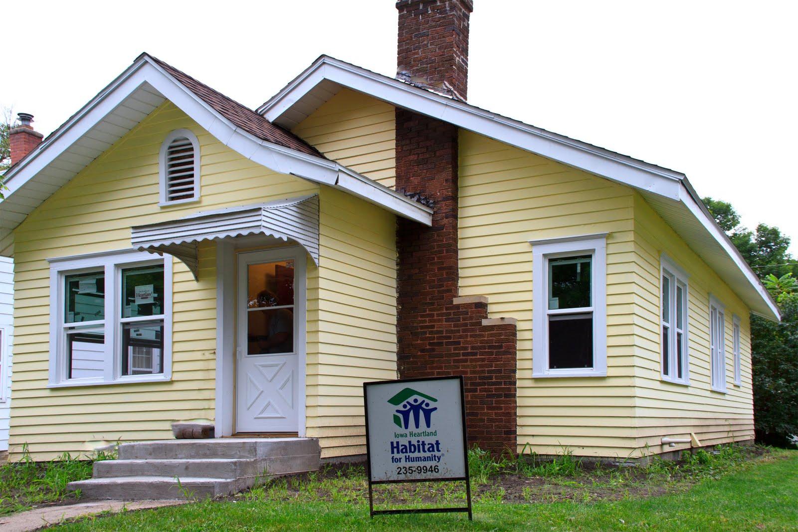 Iowa heartland habitat 400 000 homes built or repaired since 1976 - House habitat ...
