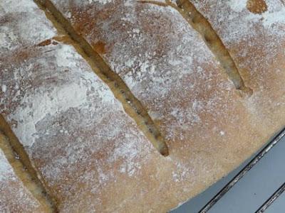salió muy bien para vosotros que os gustan los panes foráneos, yo soy más de harina blanquita