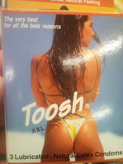 Toosh condoms