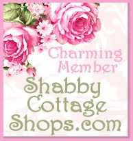 I'm A Charming Member of Shabby Cottage Shops