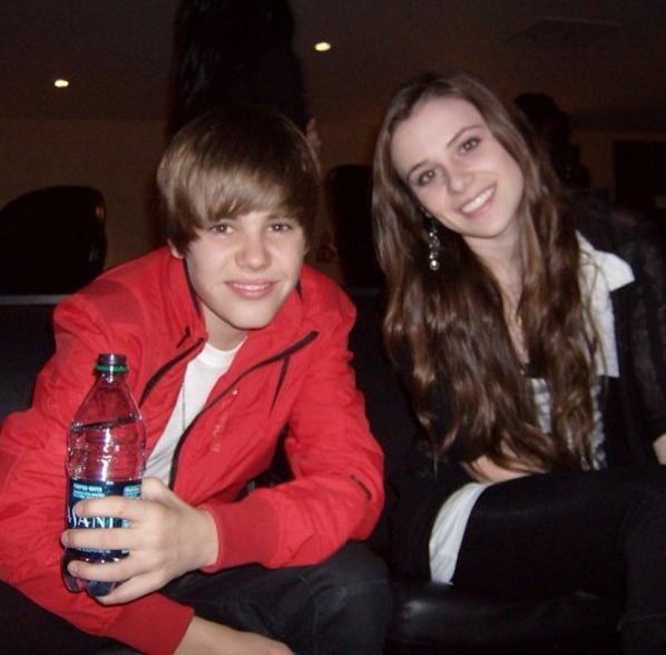 a picture of justin bieber mom and dad. Dad sister family justin