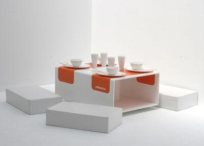 mesa para salones pequeños