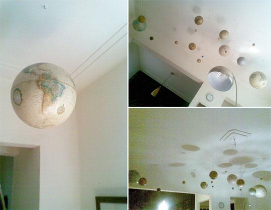Ideas Para Decorar El Techo Del Baño:INSPIRACIÓN: TECHO DECORADO CON EL SISTEMA SOLAR