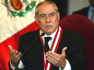 Presidente del Poder Judicial Havier Villa Stein