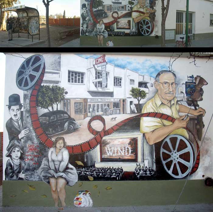 Pow el blog del chelo candia allen una galer a a cielo for El mural pelicula argentina