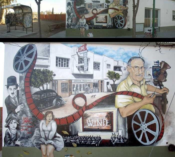 Pow el blog del chelo candia allen una galer a a cielo for El mural pelicula online