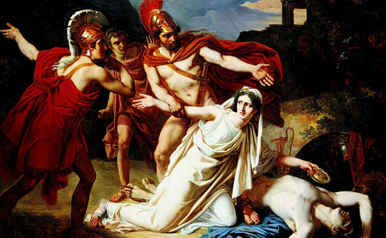 irrational behavior in the tragic plays oedipus rex and antigone Is exemplified through his behavior, his tragic flaws that is hamartia antigone and oedipus the king  in the plays oedipus rex and antigone by.