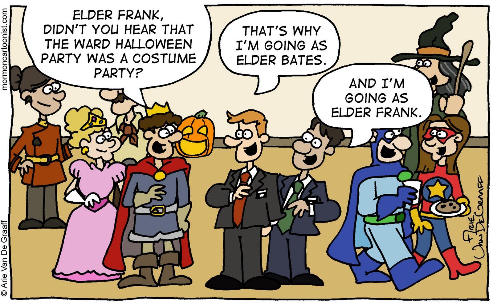 Mormon Cartoonist: Halloween Humor