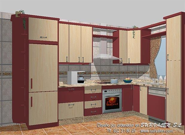 Dise o muebles para cocinas y ba os for Diseno banos y cocinas