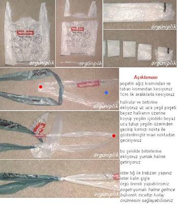 Вечерняя сумка из полиэтиленовых пакетов и вышивка бисером.