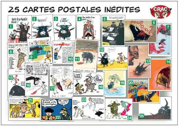 Cartes postales anti corida