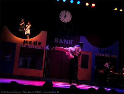 Holje Musikklasser Show Klockrent 2010 Olofström Musikal Foto Anders N