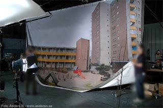 förortsungar, melodifestivalen, bakgrundsbild, bakgrund, filminspelning