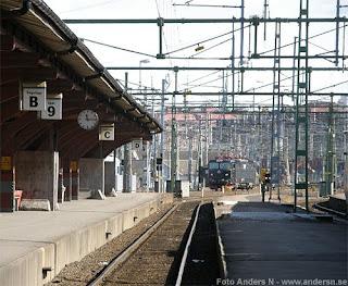 göteborg, järnvägsstation, tåg, lok, räls, järnvägsspår, spår