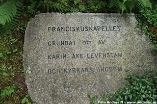 franciskuskapellet, kapell, varvsberget, tidaholm, västergötland