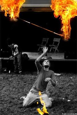 eldkonst eldkonstnärer eld bergsjön gärdsås foto anders n