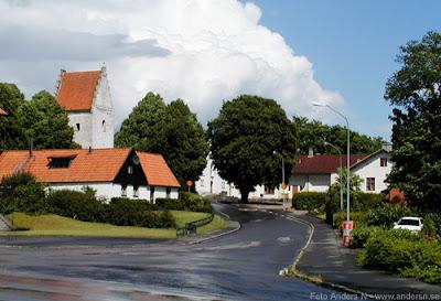 Degeberga kyrka kyrkan Skåne skånsk Foto Anders N
