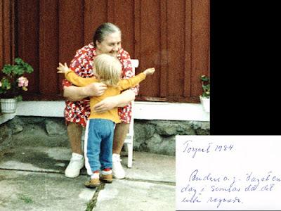 mormor och jag, mormor, anders, två år, 74 år, olofström, jämshög, hässlehult, foto anders n
