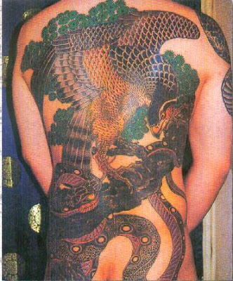 Asia tattoo Animal Design 7