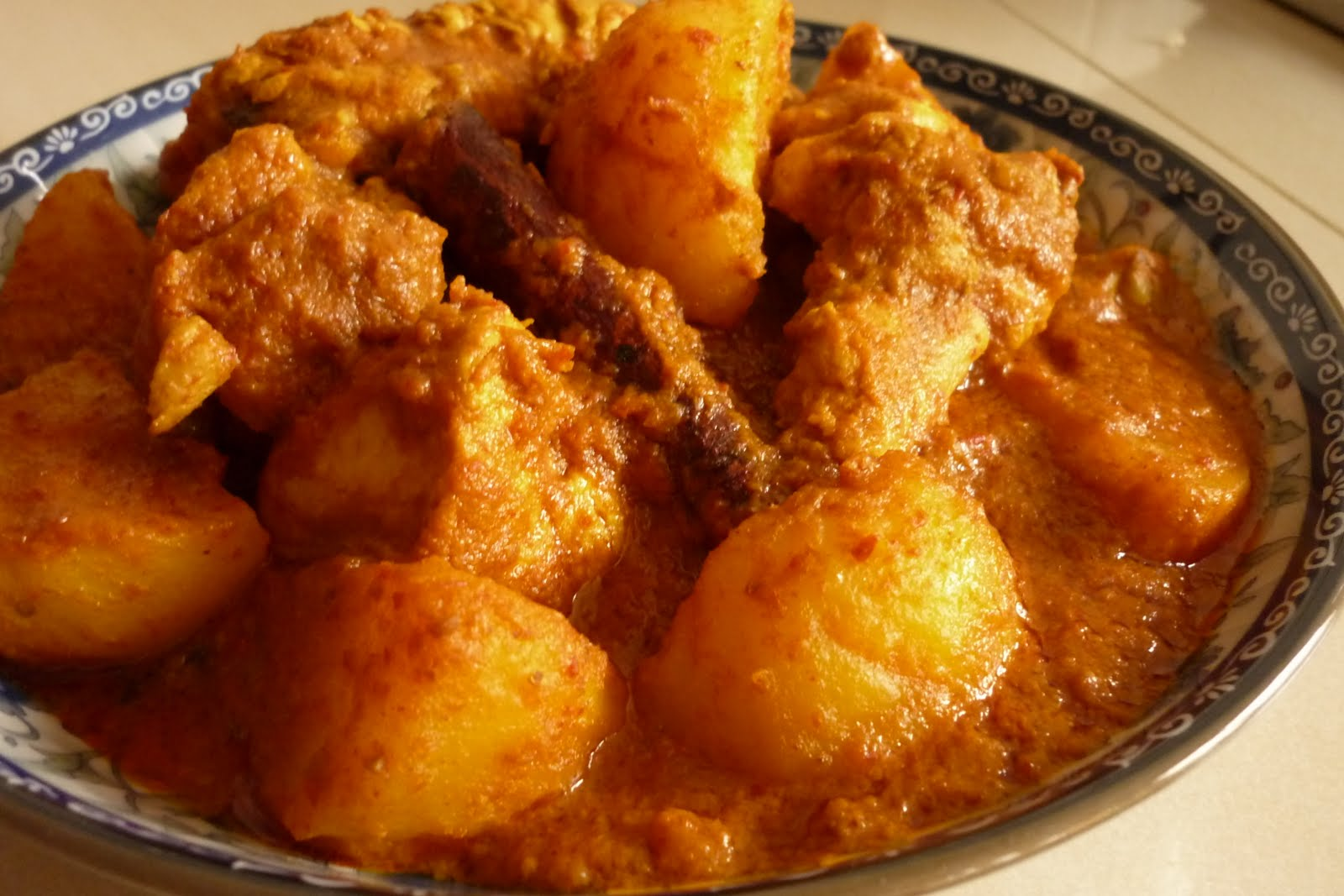 kitchen flavours: Nyonya Curry Chicken (Penang)