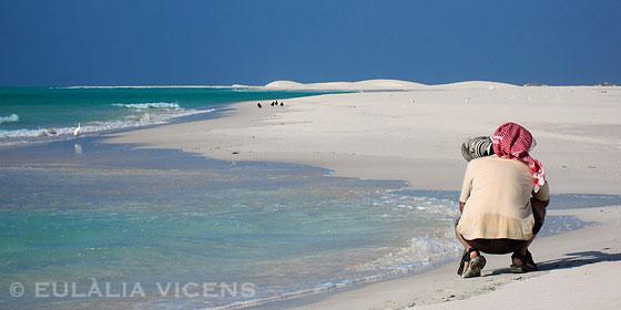Oriol Alamany fotografiando Isla de Socotra Yemen