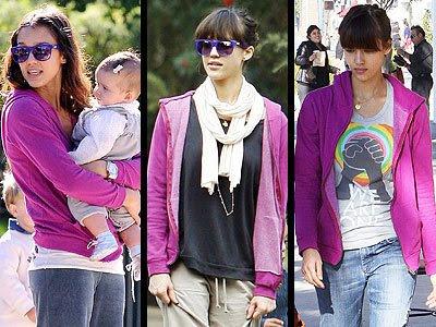 jessica alba fashion week(5)