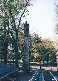 Guitar Man Tree Sculpture, Overton Park, Memphis