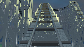 initial ascent on the virtual Zippin Pippin