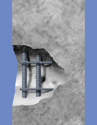 Cover Design for a Book on Reinforced Concrete