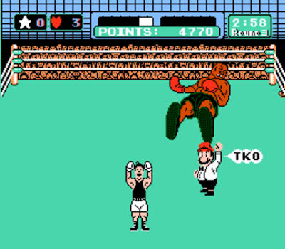 Mike Tyson's Punch Out for the Nintendo Family Computer
