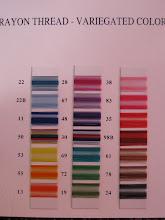 Thread Colors VI