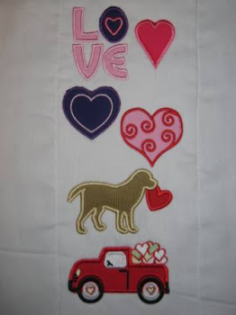 Valentine's Day Applique