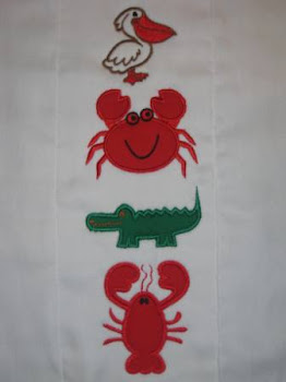 Louisiana Animal Applique