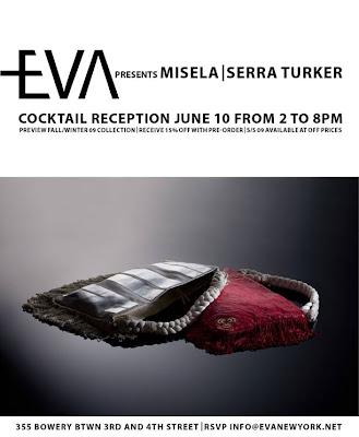 EVA New York MISELA invitation @ Dream Sequins