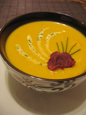 Tips to make low fat squash soup