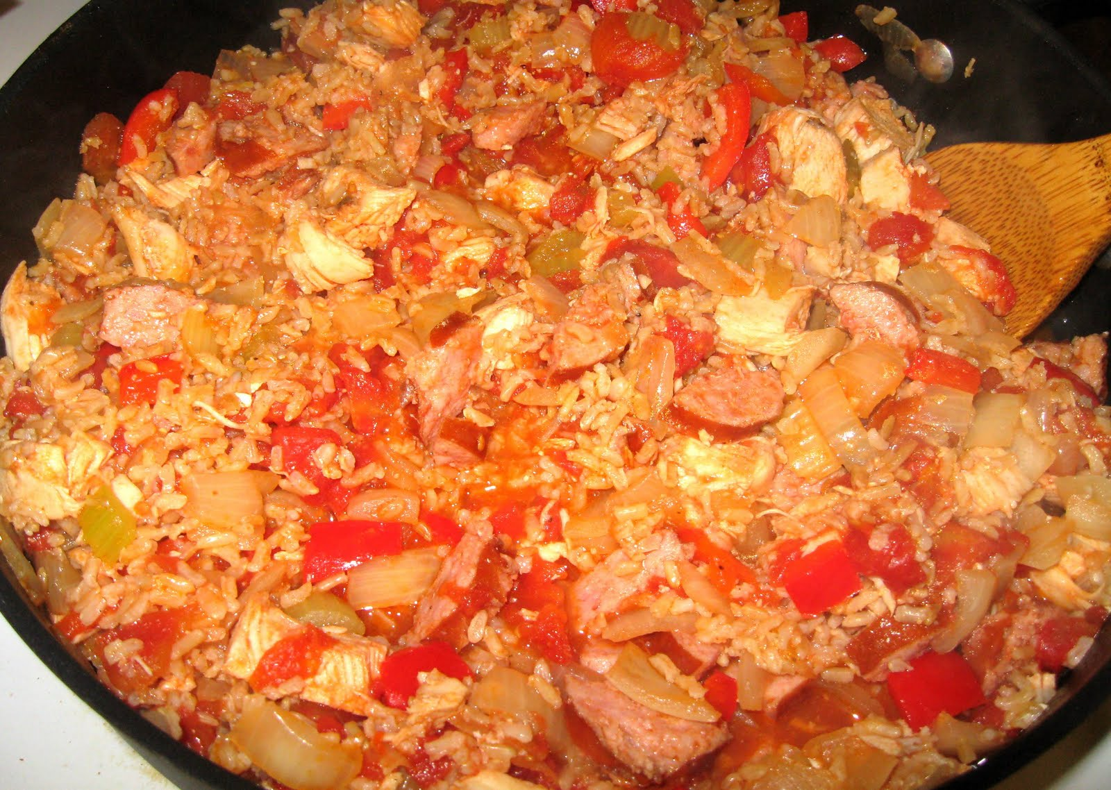 ... Dinner... Healthy & Low Calorie: Jambalaya Chicken & Sausage Cass...