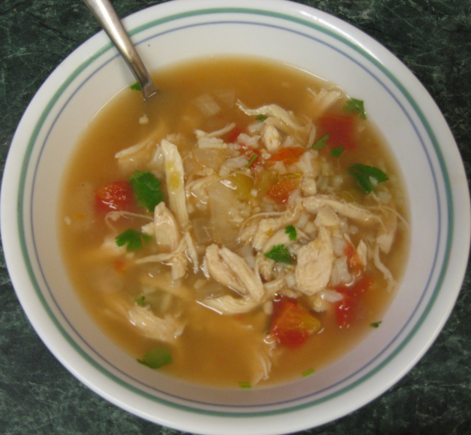 ... Does Dinner... Healthy & Low Calorie: Green Chili Chicken & Lime ...