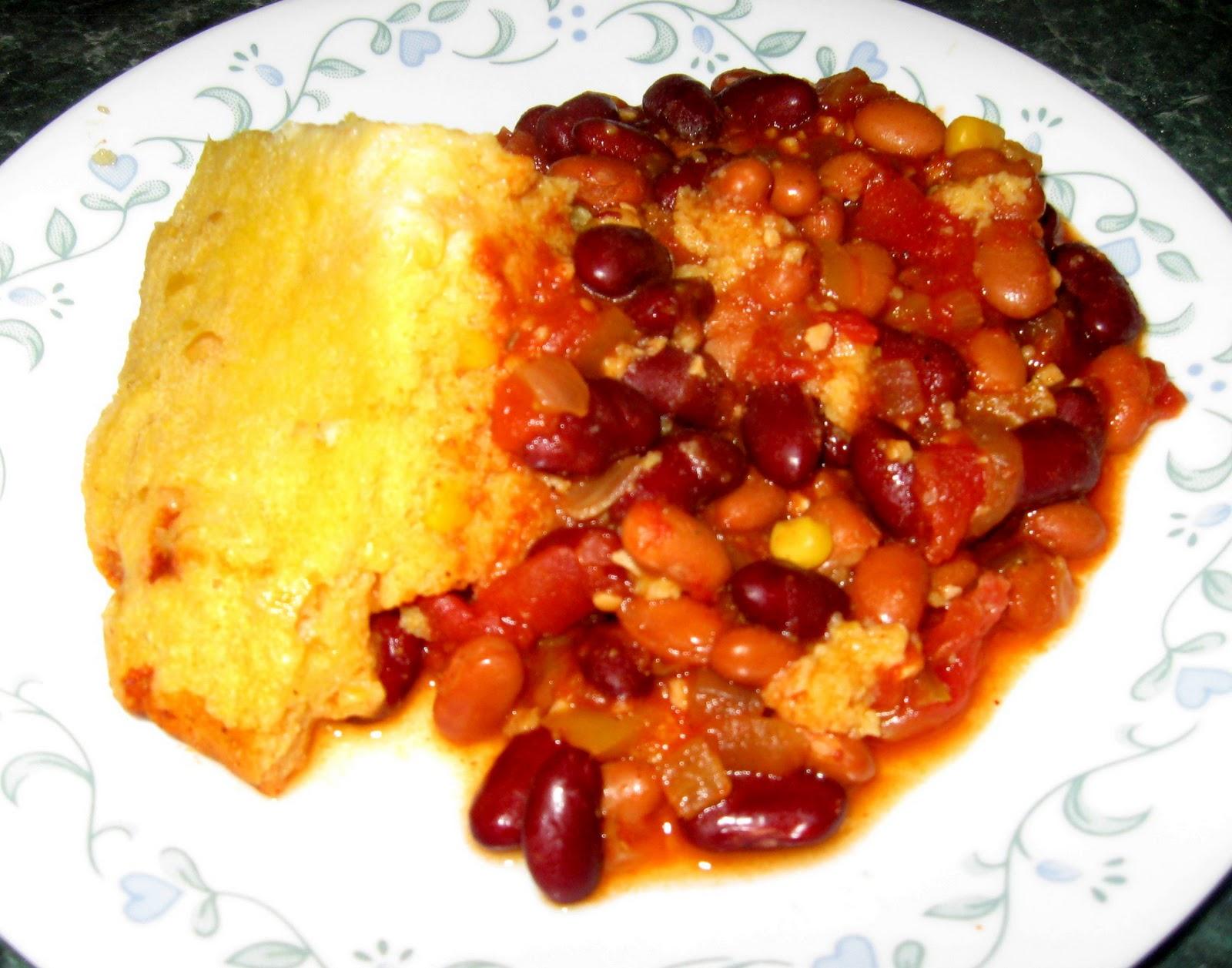 Beans And Cornbread Recipe — Dishmaps