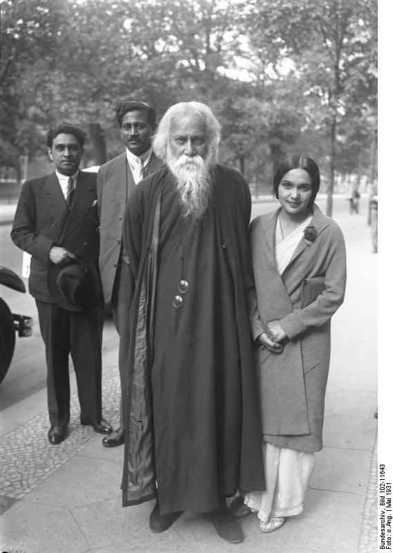 Rabindranath Tagore in Berlin, Germany - July 1930